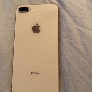 Accessories - Rose gold iPhone 8 Plus Verizon